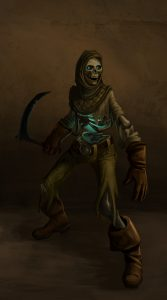 Underworld Ascendant Screenshot Skeleton Concept art